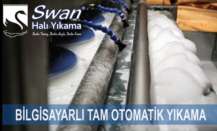Otomatik halı yıkama makinesi